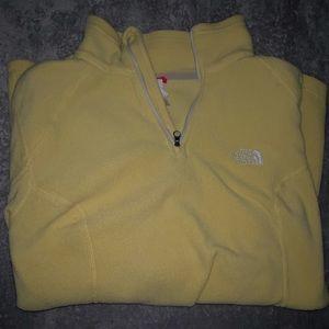 1/4 zip North Face fleece jacket